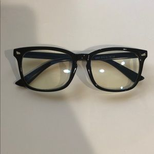 Accessories - Black frame blue light glasses